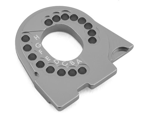 Traxxas TRX-4 Aluminum Motor Mount Plate Charcoal Gray TRA8290A