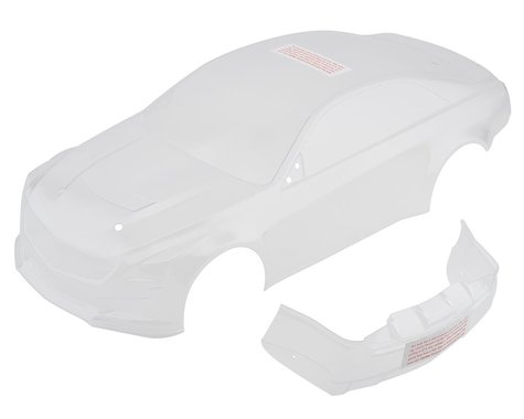 Traxxas Cadillac CTS-V Clear Body with Decal Sheet TRA8391