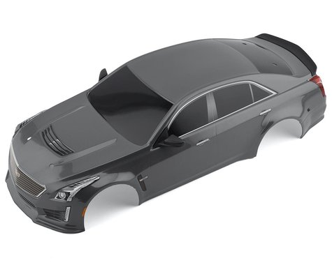 Traxxas Silver Cadillac CTS-V Painted Body for 4-Tec 2.0 TRA8391X