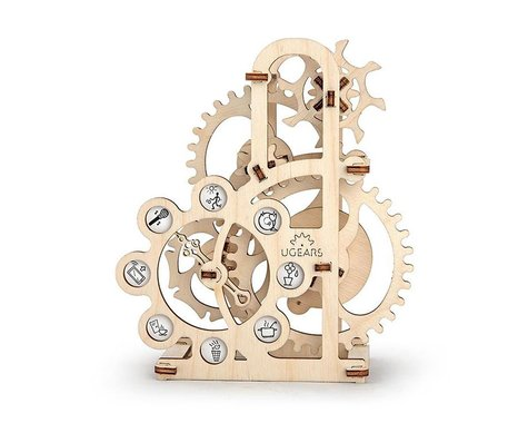 UGears Dynomometer Mechanical Wooden 3D Model