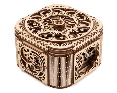 UGears Treasure Box Wooden 3D Model