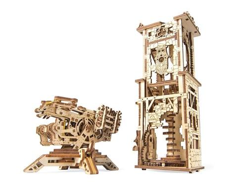 UGears Archballista-Tower Wooden 3D Model