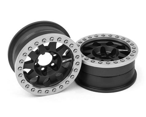 Vanquish Method 1.9 Race Wheel 101 Black Anodized V2 VPS07756